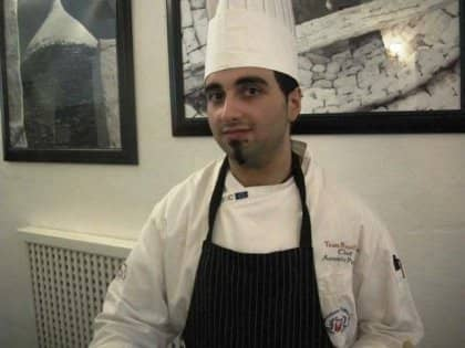Chef Antonio Puppio