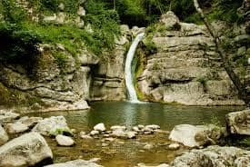 Cascate di San Fele in provincia di Potenza – Italy