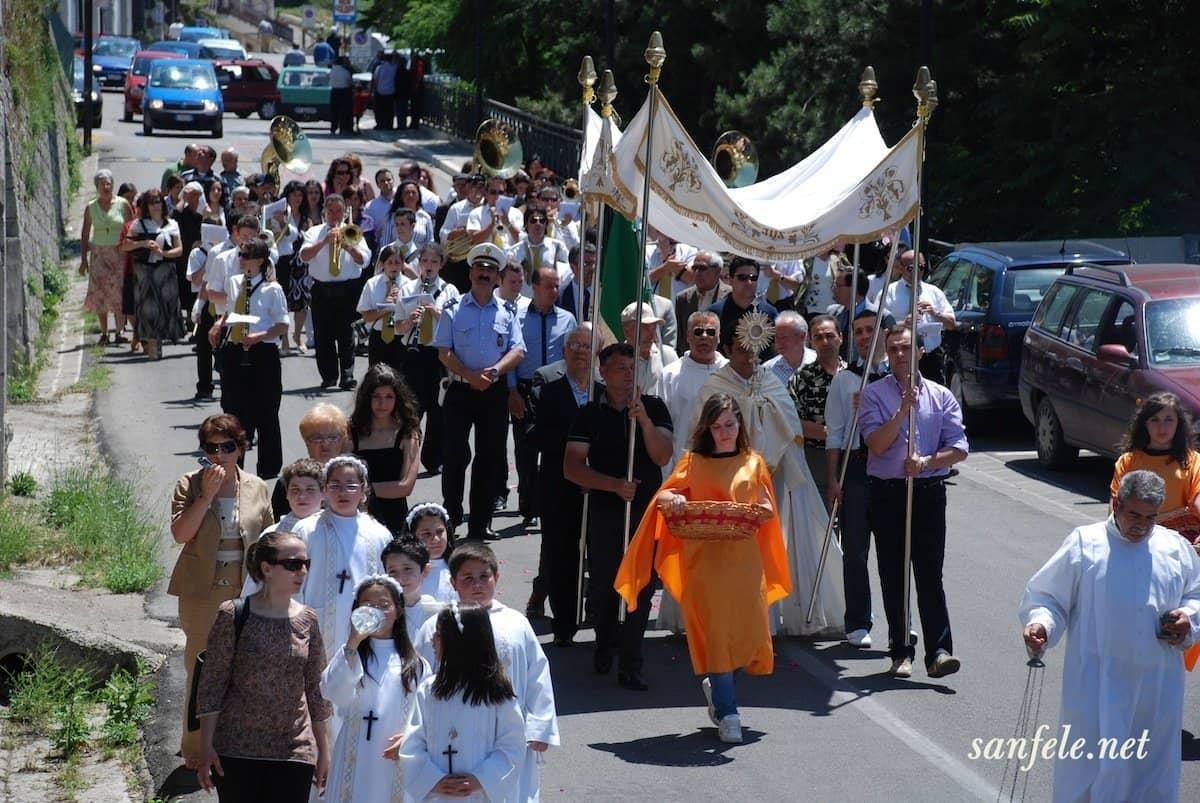 Diretta Streaming della Processione in onore di San Giustino De Jacobis