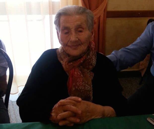 San Fele festeggia i 101 anni di nonna Carmela