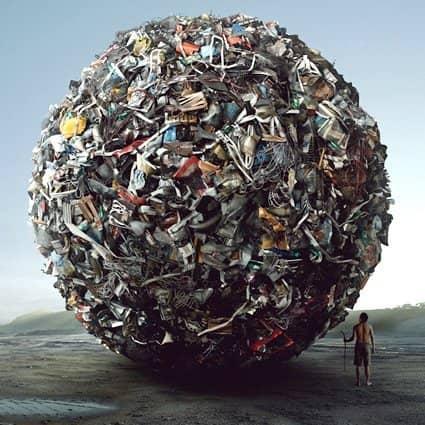 Dai rifiuti nasce l'arte