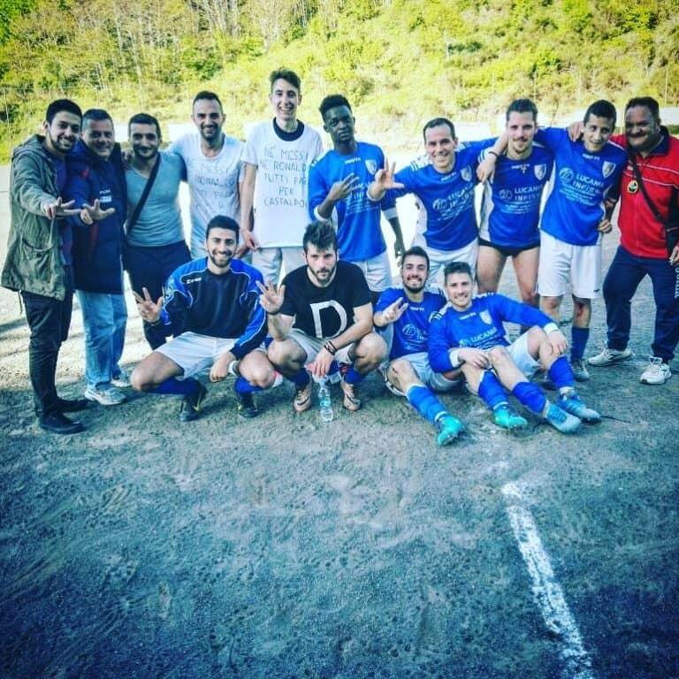 San Fele calcio, tutti pazzi di Racolandia