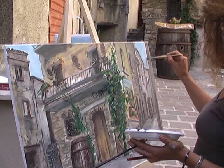 1^ estemporanea di pittura città di San Fele