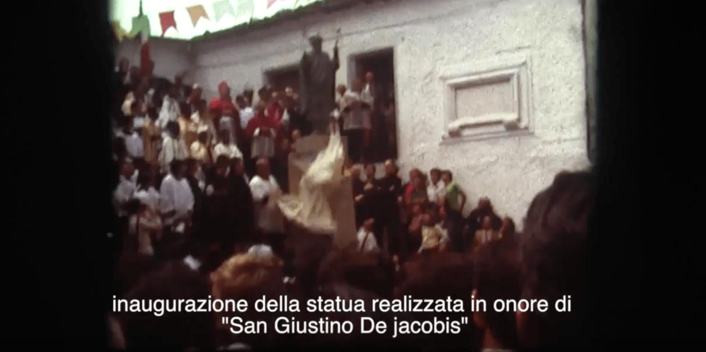 Processione in onore di San Giustino del 1975