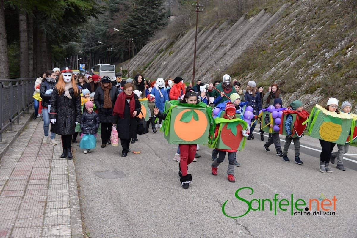 Foto della sfilata di Carnevale 2018