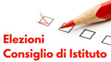 25 e 26 novembre Elezioni Consiglio d'Istituto