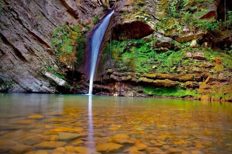 Cascate di San Fele, un passo alla volta
