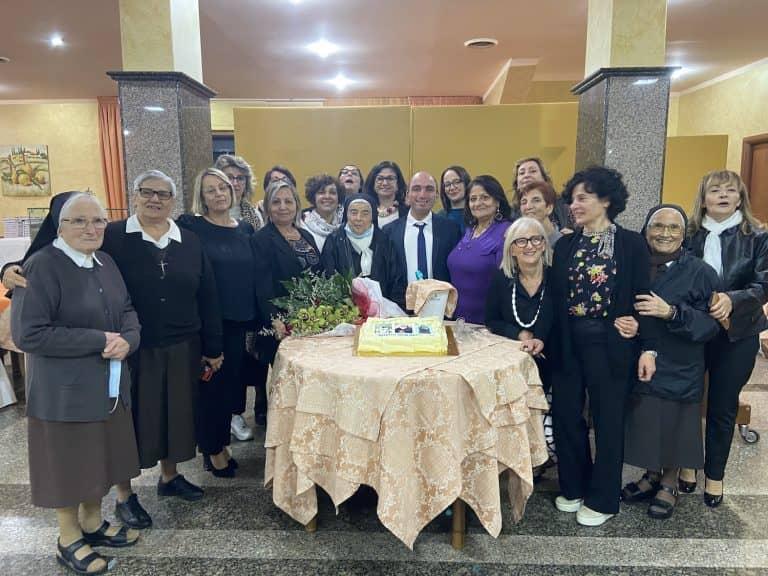 La comunità di San Fele saluta le suore Stimmatine